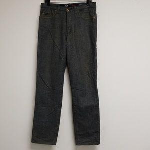 Dolce & Gabbana Gray Straight Leg Jeans Size 34